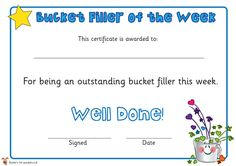 Teacher's Pet - Have You Filled a Bucket Today? Banner - FREE Classroom Display Resource