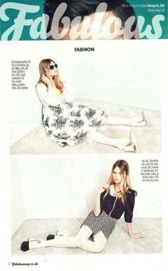 Pretaportabello in Fabulous Magazine