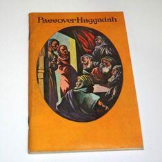Passover Haggadah Vintage Jewish Prayer Booklet Koslowsky Hebrew English 1950s