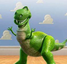 Toy Story- Rex the T-Rex dinosaur toy Toy Story 3, Toy Story Quotes, Toy Story 1995, Toy Story Party, Toy Story Birthday, Movie Quotes, Toy Story Dinosaur, Dinosaur Funny, Dinosaur Toys