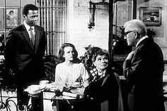 Guess Who's Coming to Dinner 1967 w/ Spencer Tracey, Sydney Poitier, Katherine Hepburn and  Katharine Houghton
