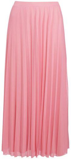 F&F True Pleated Plus Size Maxi Skirt on shopstyle.com.au