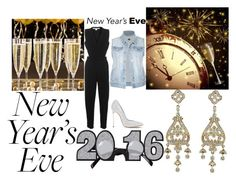 """happy new years"" by laniqua-mosley ❤ liked on Polyvore featuring Jonathan Simkhai and Casadei"