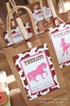 "Photo 4 of 11: Vintage shabby chic cowgirl party / Birthday ""Maddison's Cowgirl Birthday"" 