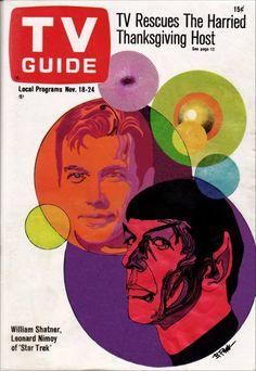Illustration by Bob Peak (1927-1992) TV Guide, November 18-24, 1967