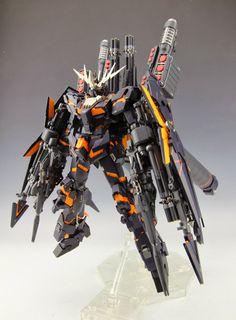 MG /100 RX-0 Full Armor Unicorn Gundam 02 Banshee - Custom Build