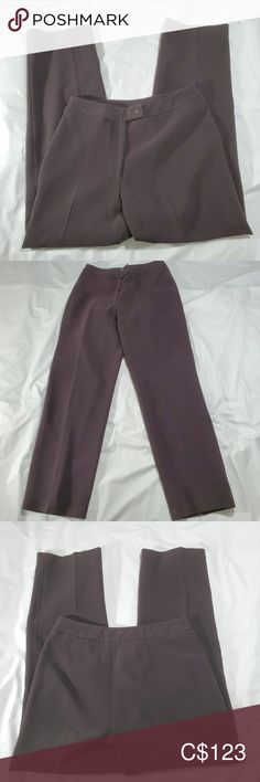 Bianca Nygard Brown pants size 4 Make an offer or ask for details on this. Excellent used condition in long Bianca Nygard Pants Brown Pants, Plus Fashion, Fashion Tips, Fashion Trends, Dark Brown, Pant Jumpsuit, Jumpsuits, Pants For Women, Colour
