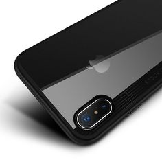 e0260a1b7a Joyroom Slim Case For iphone X Hard Transparent TPE & soft Silicone TPU  coque Back Cover Case For iphone X case