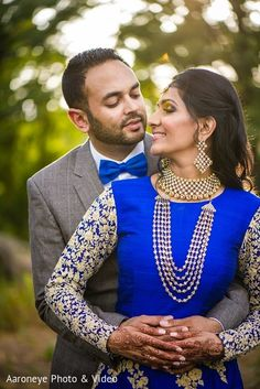 Photo: Reception Portrait   Maharani Weddings