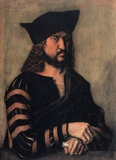 """""""Portrait of Elector Frederick the Wise of Saxony"""" - Albrecht Dürer Gemäldegalerie, Berlin Renaissance Kunst, Renaissance Portraits, High Renaissance, Renaissance Paintings, Albrecht Durer, Tempera, List Of Paintings, Hans Holbein The Younger, Landsknecht"""