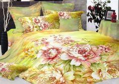 3d flower Print Oil Painting Bedding Set Spring Romantic Rustic Duvet Cover Queen King Comforter Set Cotton Twill Bed Sheets 4Pcs (queen, h) DIAIDI http://www.amazon.com/dp/B00CFHJY1M/ref=cm_sw_r_pi_dp_qDvCub172647K