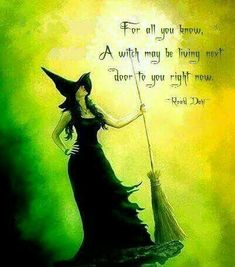 Or with you, as is my case. My father would never understand the witch/Earth paganism of his daughter. But I take care of him. So I just keep my silence. Halloween Quotes, Halloween Art, Vintage Halloween, Auras, Samhain, Witch Quotes, Eclectic Witch, Vintage Witch, Witch Art