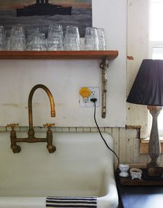 brass faucet by Seth Smoot