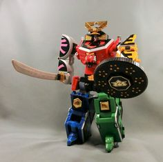 Bandai Power Rangers Samurai Shinkenger DX Shinken-Oh Samurai Megazord