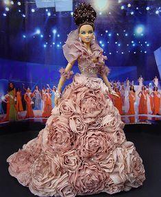 OOAK Barbie NiniMomo's Miss Italy 2011