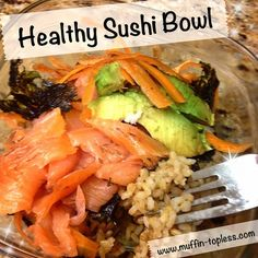 Healthy Sushi Bowl Recipe How to Make Sushi Nights Out...