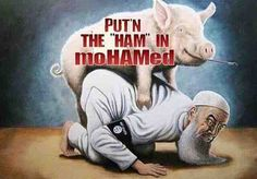 So that's why Mohammad banned pork.. http://criminal-mastermind.tumblr.com