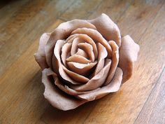 The Simple Life Journal: How to Make Salt Dough roses