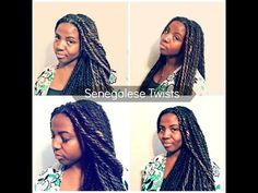 Senegalese Twists + The World Natural Hair Show 2014 - YouTube