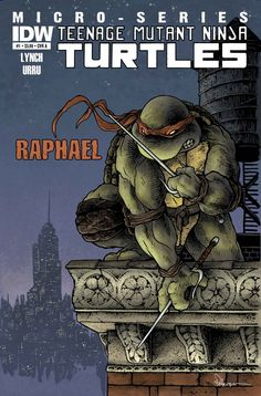 A review on the first 3 issues of the TMNT micro-series from IDW!
