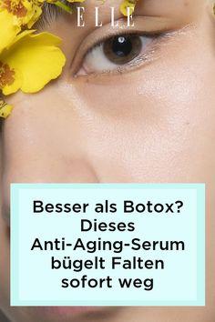 Die Parakresse gilt als natürliche Botox-Alternative. Dieses Anti-Aging-Serum soll Falten sofort glätten – mehr über die Wirkung auf Elle.de. #beauty #haut #hautpflege #skincare