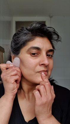 Raw Beauty, Clean Beauty, Gua Sha Facial, Pure Oils, Facial Massage, Flower Oil, Beauty Tutorials, Chinese Medicine, Face Oil