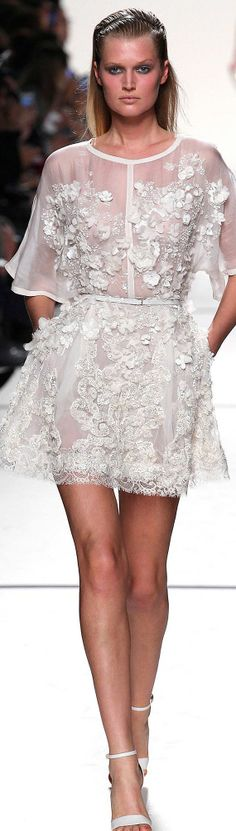 Elie Saab Spring 2014 rtw @}-,-;--  Prefect for the wedding party Dinner the nite before!!!! ;)