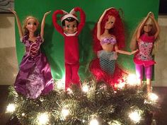 She has the funniest Shelf on the Elf ideas!! The Elf Planking one made me laugh so hard. Best Elf on the Shelf Ideas ever.