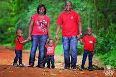 Family Portraits in Kenya. Family photo shoot at the Nairobi Arboretum
