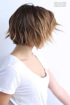 28.Short Haircut 2016