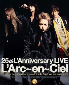 25th L'Anniversary L'Arc-en-Ciel stuff