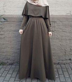 My hijab ♥ Hijab Fashion Summer, Abaya Fashion, Fashion Outfits, Dress Fashion, Muslim Women Fashion, Islamic Fashion, Mode Abaya, Hijab Fashionista, Hijab Fashion Inspiration
