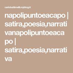 napolipuntoeacapo | satira,poesia,narrativanapolipuntoeacapo | satira,poesia,narrativa