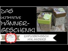 DAS ULTIMATIVE MÄNNERGESCHENK! mit Produkten von Stampin´Up! Explosionsbox mal anders - YouTube