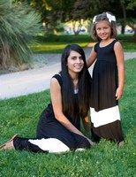 Black and White Mommy and Me Maxi Dress kids $14.99 mommies $16.99   https://www.facebook.com/gabskiaccessories www.gabskia.com