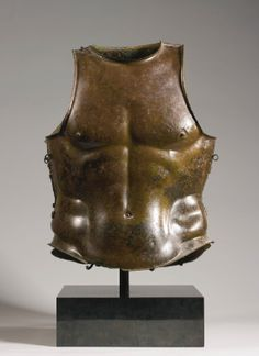 A GREEK BRONZE CUIRASS, CIRCA 4TH CENTURY B.C.