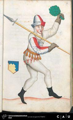 Nürnberger Schembart-Buch Erscheinungsjahr: 16XX  Cod. ms. KB 395  Folio 44