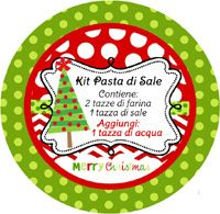 Etichette da scaricare per kit in pasta di sale