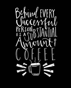 #CoffeeMotivation