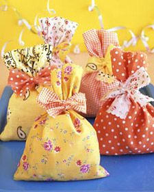 "Guests will say ""goody"" when they get these cheerful bags."