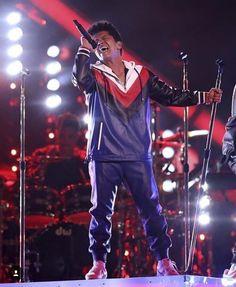 Bruno Mars at the 2017 Grammys awards
