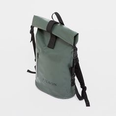 Waterproof @filson1897 Day Dry Backpack. We've got green now, too.  #madeinusa