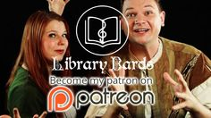 Support Library Bards creating NERDY COMEDY