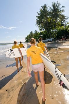 All the team members of Tamarindo Surf School are extremely professional, efficient and are trained as lifeguards. They provide personal attention to every student and ensure their safety and comfort. http://www.costaricajourneys.com/tamarindo-surf-school/ #guanacaste #surfing #costarica