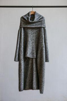 BAN XIAOXUE 2015冬 披肩式连衣裙    - BANXIAOXUE
