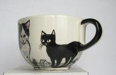 tassen selber gestalten keramik bemalen ideen