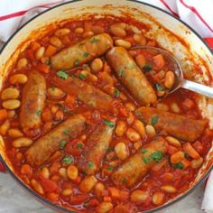 Easy Sausage & Butterbean Casserole - My Fussy Eater   Healthy Kids Recipes