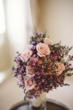 Gorgeous Wildflower Wedding Bouquets for 2017 Image: 21