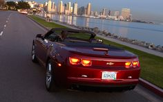 2013 Chevrolet Camaro SS convertible rear three quarter