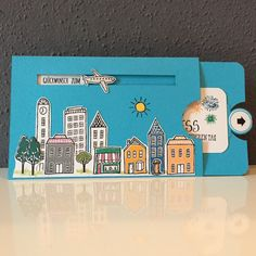 Geburtstagskarte Stadt Land Gruß mit Anleitung – BK Bastelkarin The Effective Pictures We Offer You About DIY Birthday Cards for bff A quality picture can tell you many things.